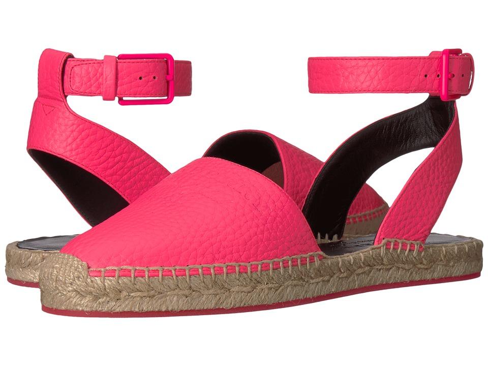 Burberry Abbin Logo (Neon Pink) Sandals