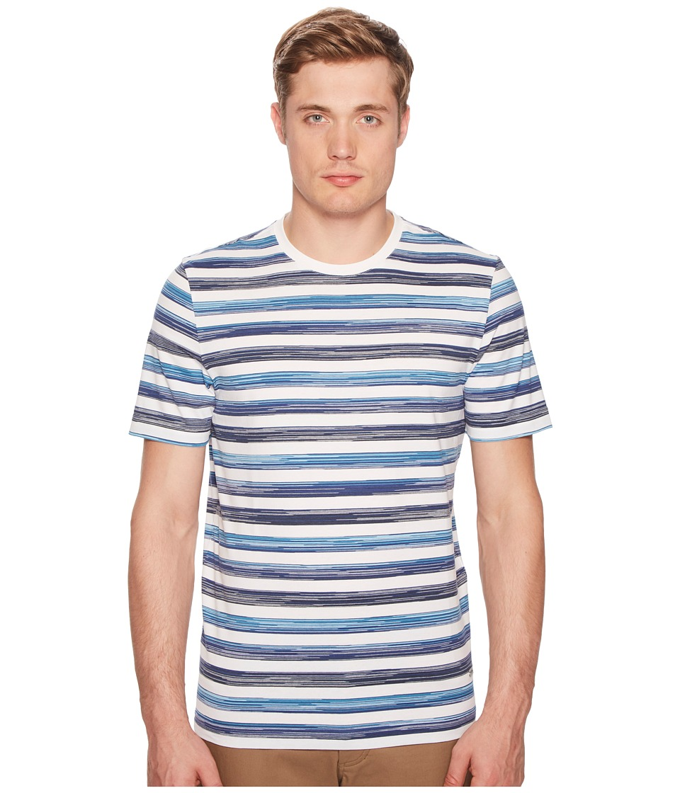 Missoni - Jersey Sfumato T-Shirt (Blue/White) Mens Clothing