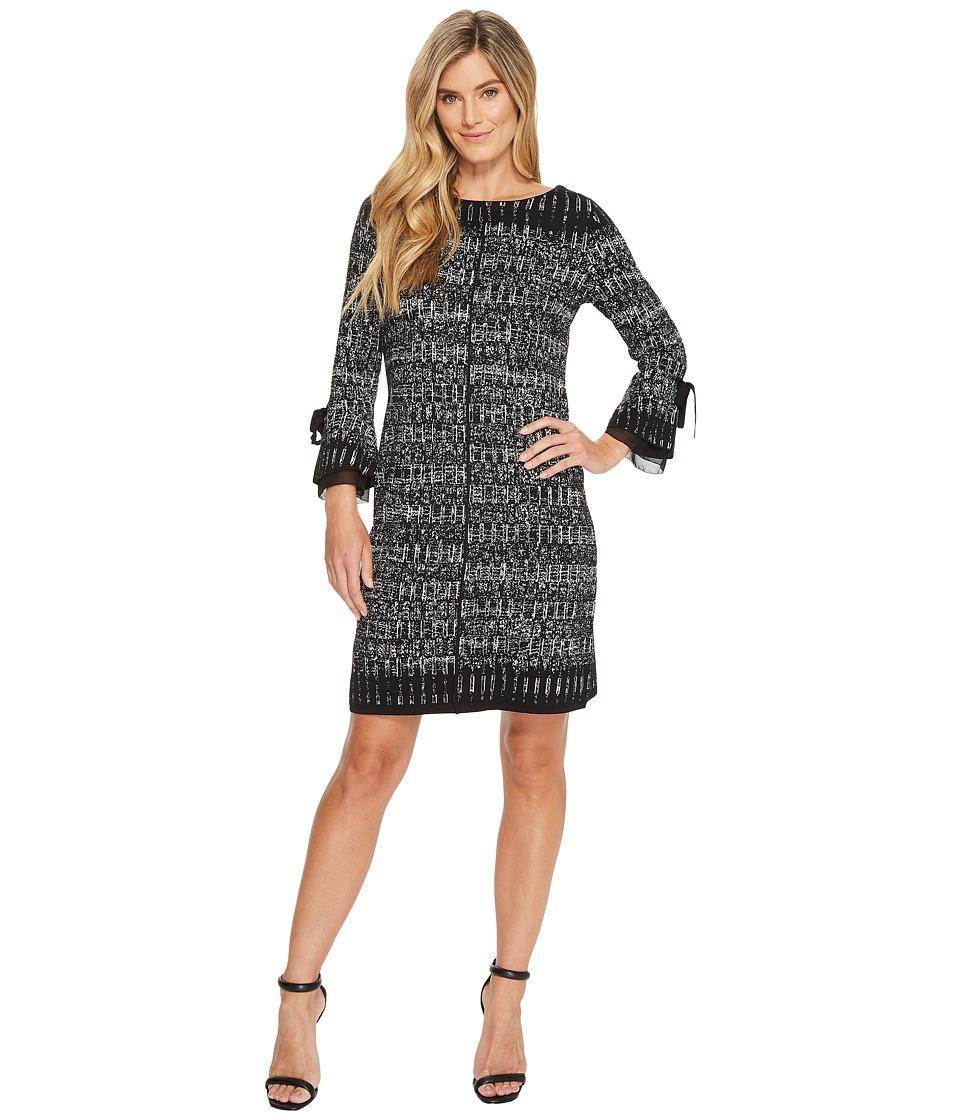 NIC+ZOE Ruffle Cuff Dress (Multi) Women
