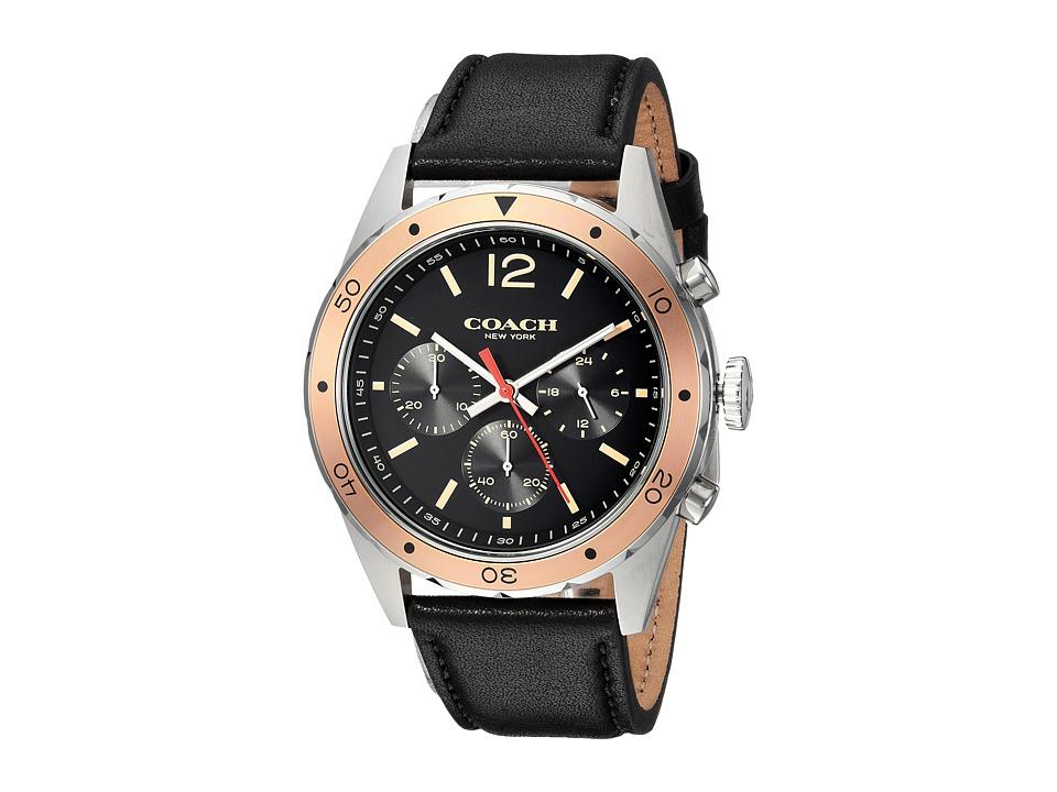 COACH - Sullivan Sport - 14602133 (Black) Watches