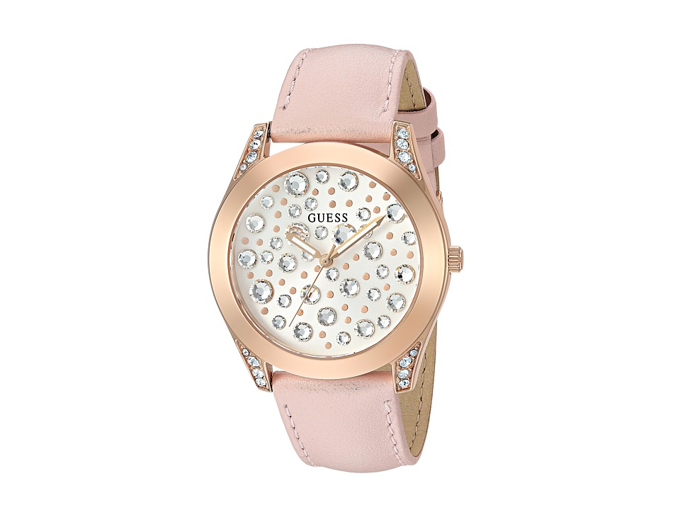 GUESS - U1065L1 (Pink/Rose Gold) Watches