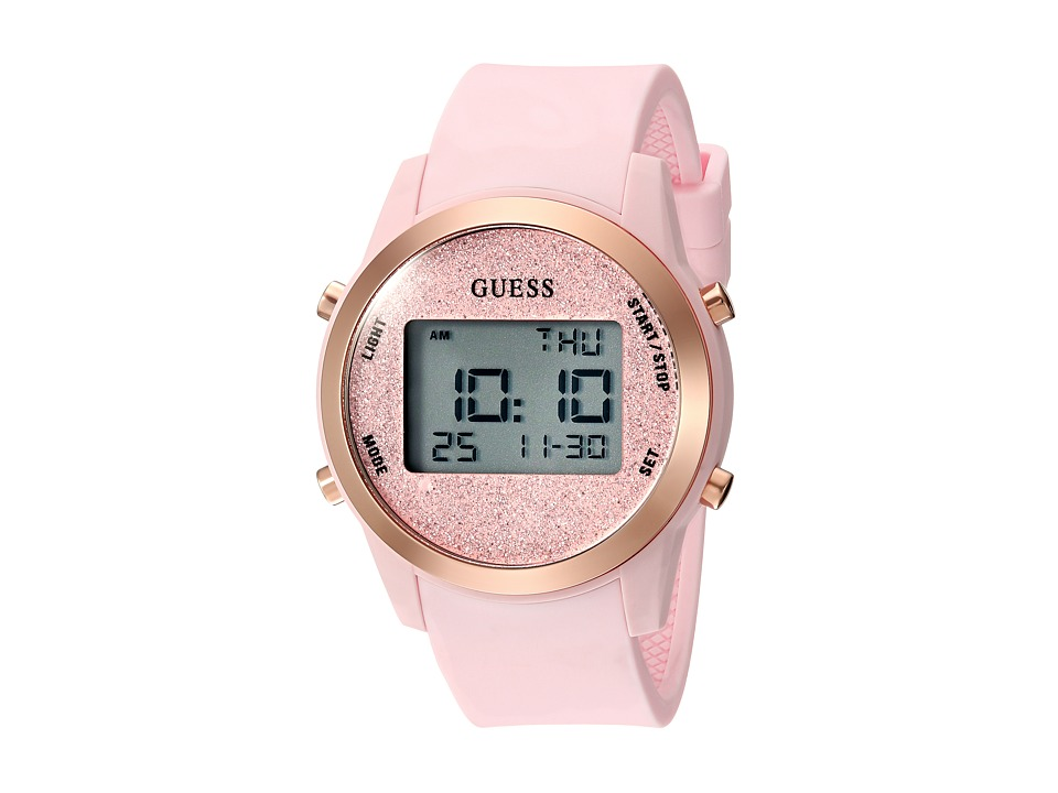 GUESS - U1031L3 (Pink/Rose Gold) Watches