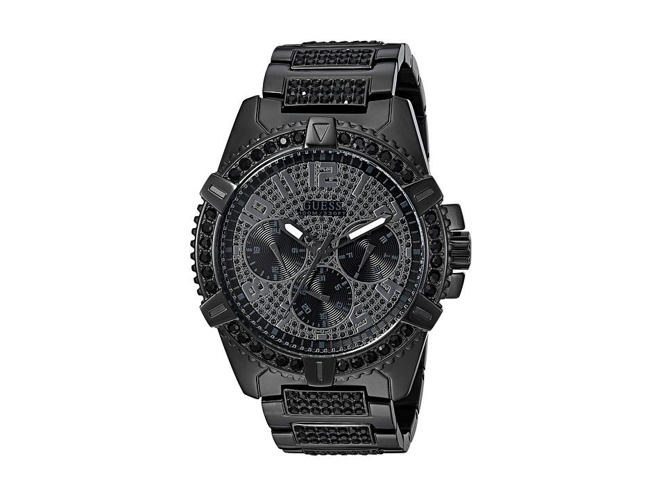 GUESS - U0799G5 (Black/Gunmetal) Watches