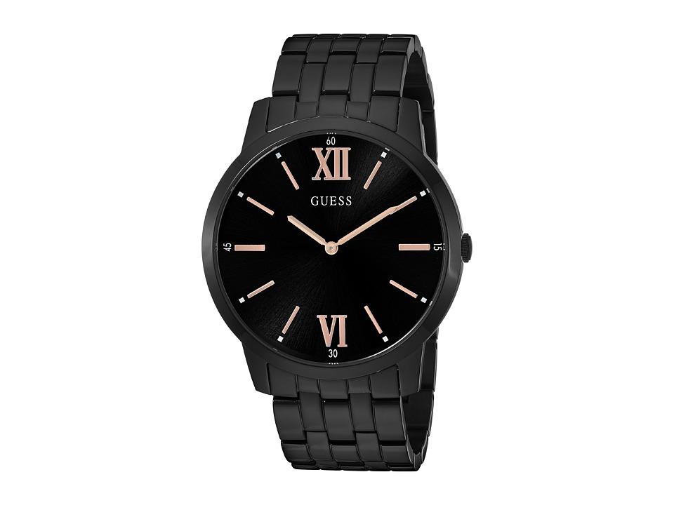 GUESS - U1073G3 (Black/Gunmetal) Watches