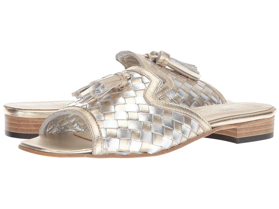 Sesto Meucci - Gabbey (Platino Nappa/Silver/Platino Tassels) Womens Sandals