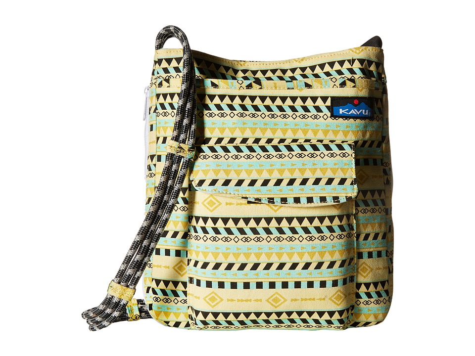 KAVU - Sidewinder (Gold Belt) Cross Body Handbags