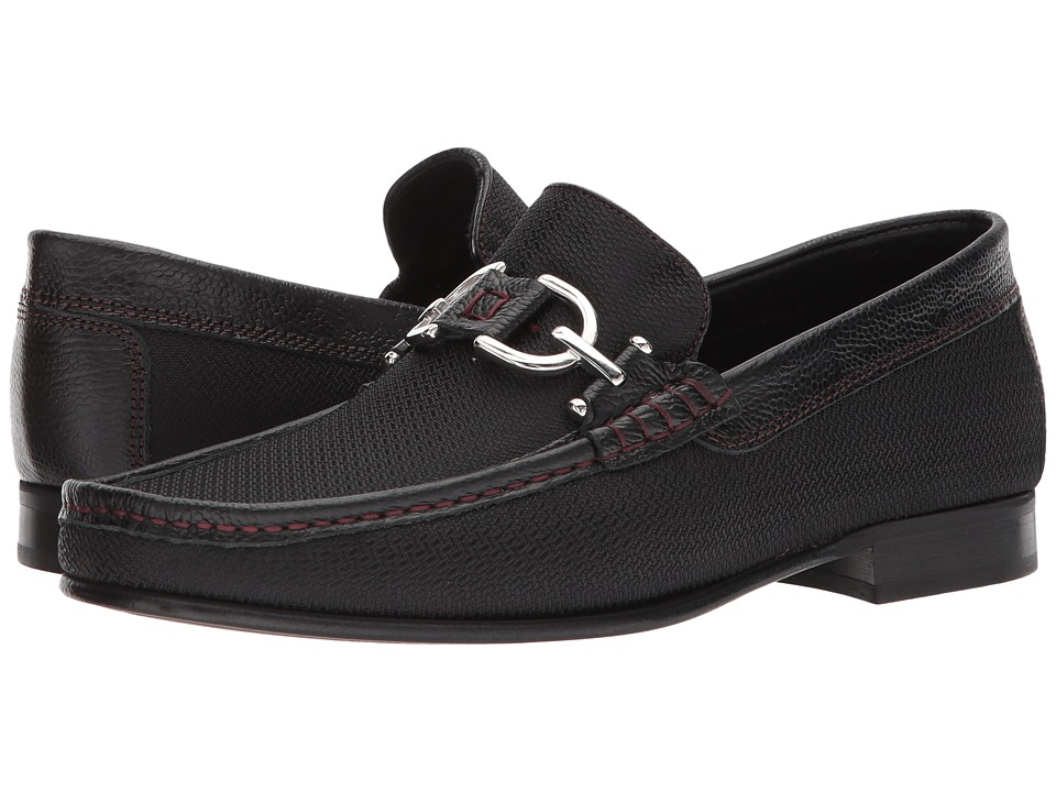 Donald J Pliner - Dacio (Black 3) Mens Slip-on Dress Shoes