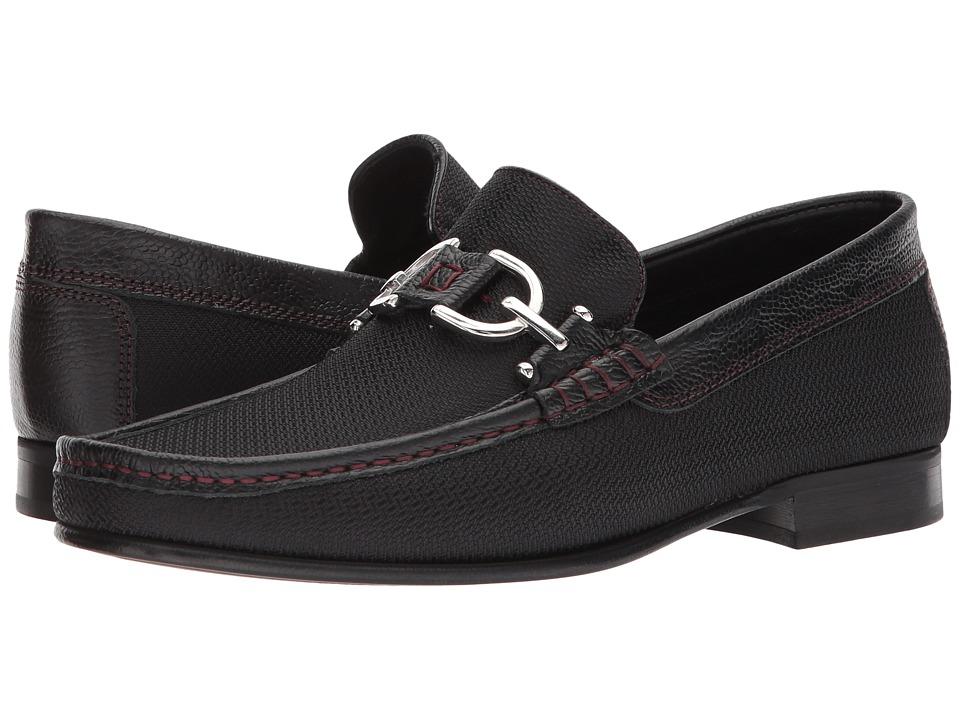 Donald J Pliner - Dacio (Black 3) Mens Slip-on Dress Shoes