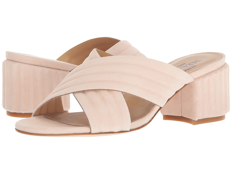 Sesto Meucci - Malaga (Pink Suede) Womens Sandals