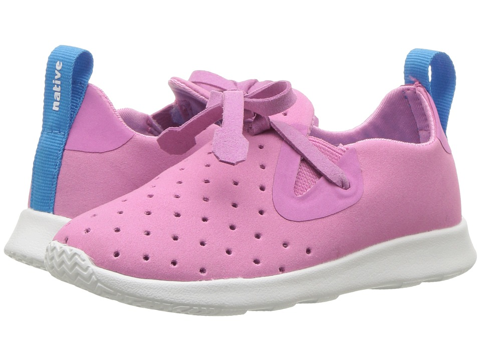 Native Kids Shoes Apollo Moc (Toddler/Little Kid) (Malibu Pink/Shell White) Girls Shoes