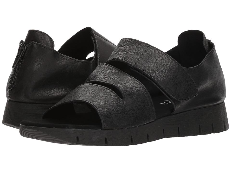 Sesto Meucci - Tango (Black Rock/Tory Black Rubber) Women's Sandals