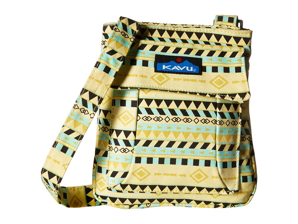 KAVU - Mini Keeper (Gold Belt) Cross Body Handbags