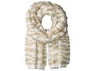 BCBGMAXAZRIA Textured Animal Knit Muffler