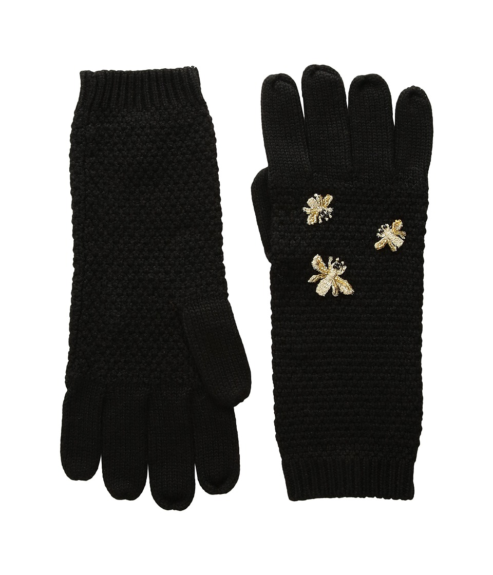 BCBGMAXAZRIA The Bees Knees Gloves (Black) Extreme Cold Weather Gloves