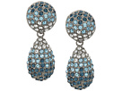 Nina Medium Teardrop Pave Swarovski Stones Earrings