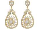 Nina Swaying Mandala Teardrop Earrings