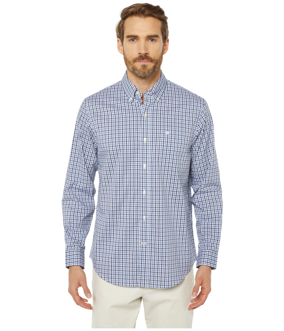 Dockers - Long Sleeve Stretch Woven Shirt (Pembroke) Mens Clothing