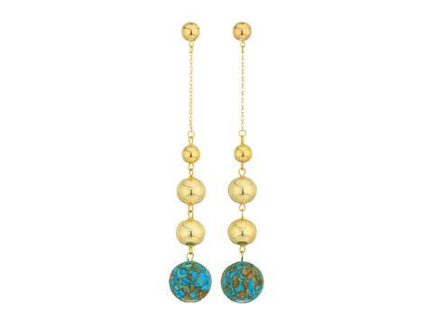 Vanessa Mooney The Louise Earrings - Turquoise