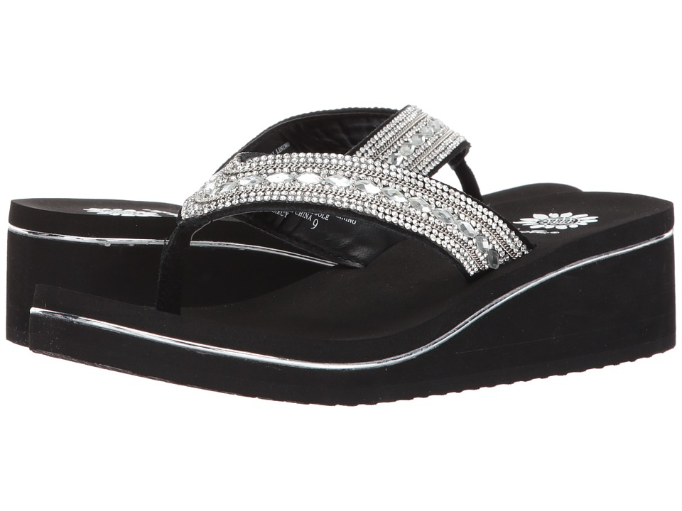 Yellow Box - Marcy (Clear) Women's Sandals