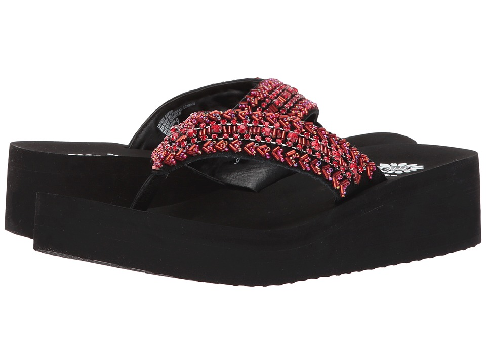 Yellow Box - Myra (Red) Women's Sandals