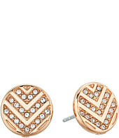 Fossil - Chevron Signature Glitz Stud Earrings
