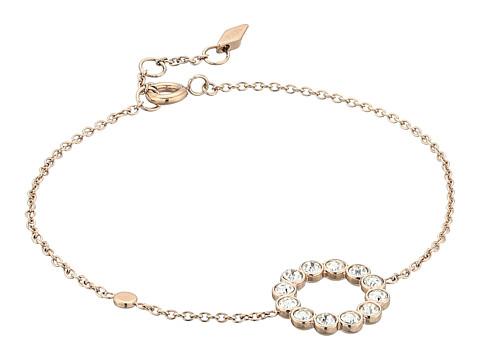 Fossil Glitz Ring Chain Bracelet - Rose Gold