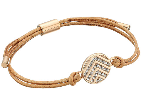 Fossil Chevron Signature Glitz Slider Bracelet - Rose Gold