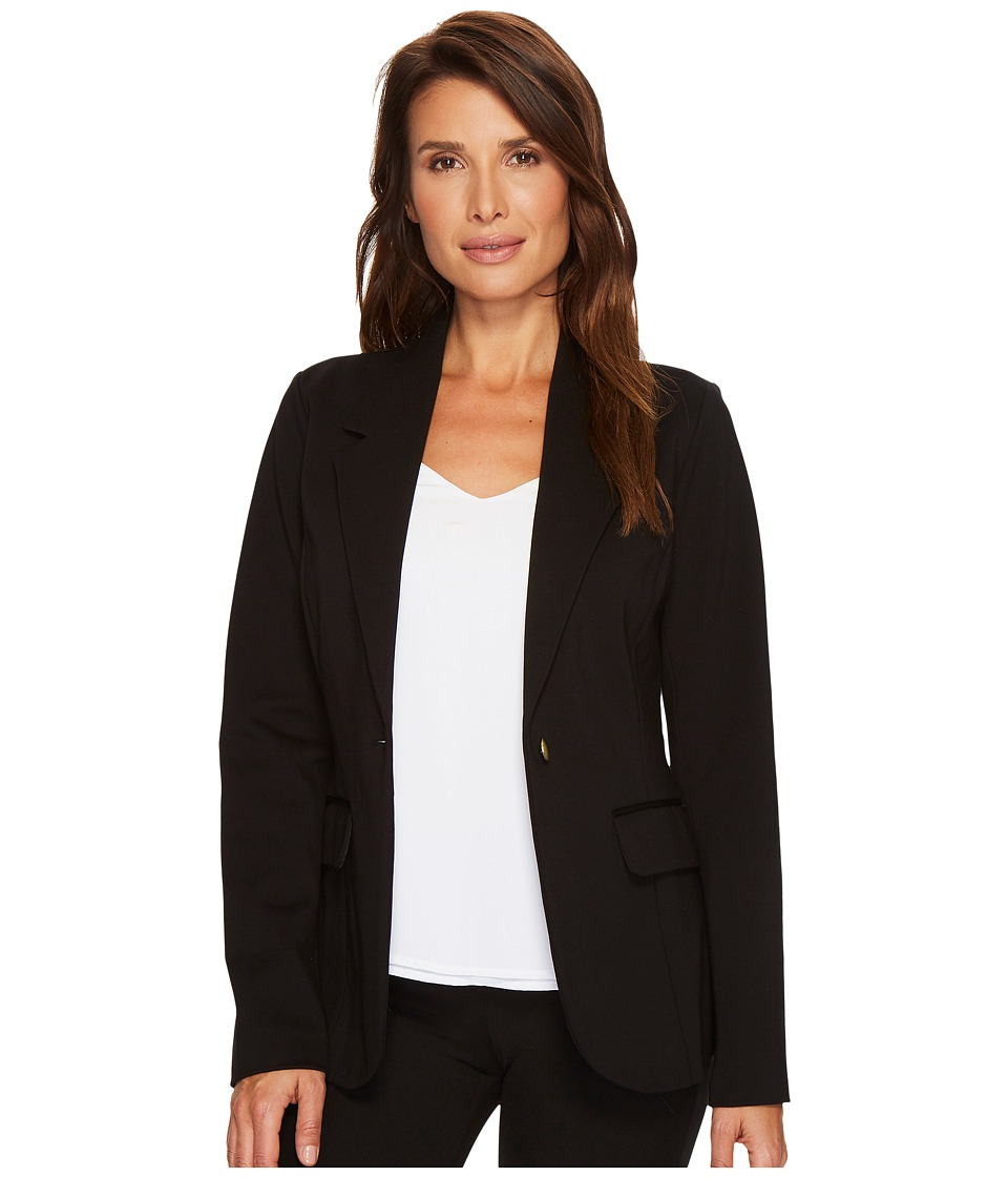 Ivanka Trump - Button Front Blazer with Buttons On Back