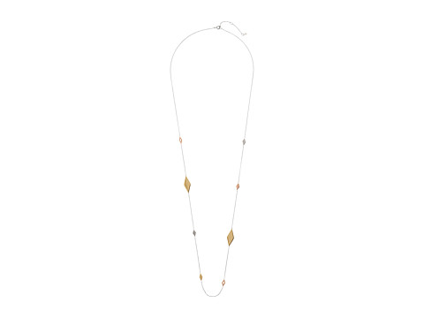 Fossil Signature Pattern Necklace - Multi