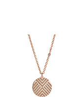 Fossil - Chevron Signature Glitz Pendant Necklace