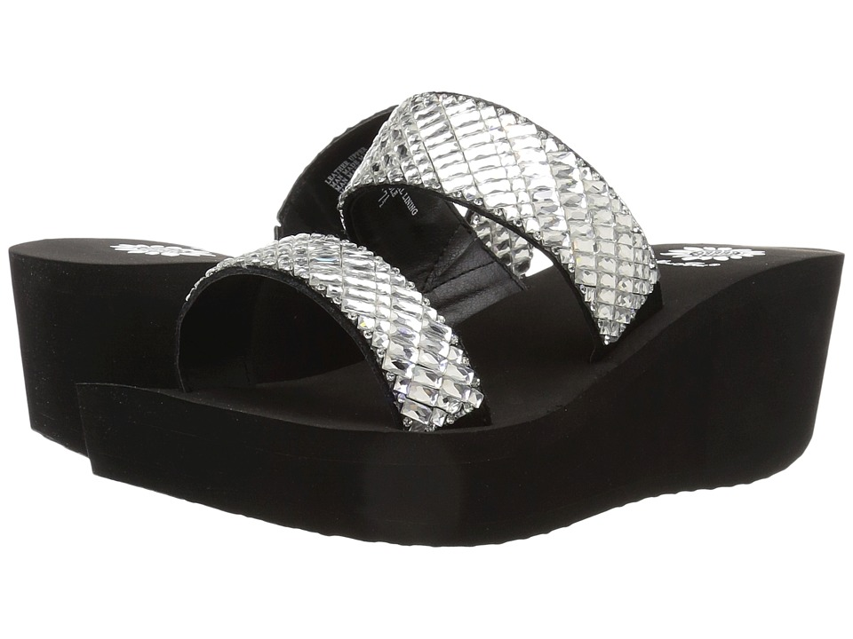Yellow Box - Greta (Clear) Women's Sandals