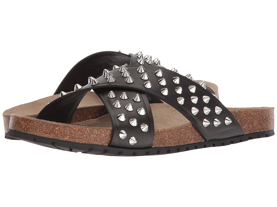 DSQUARED2 - Studded Sandal (Black) Men's Sandals