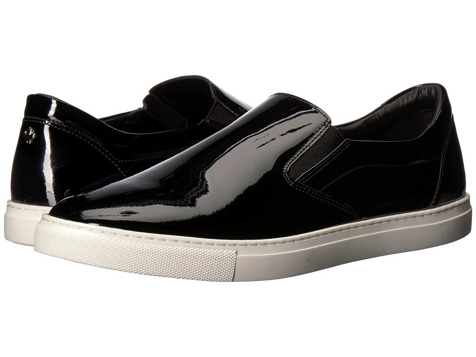 DSQUARED2 Patent Slip-On Sneaker (Black) Men's Shoes