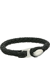 Fossil - Summit Braided Leather Bracelet