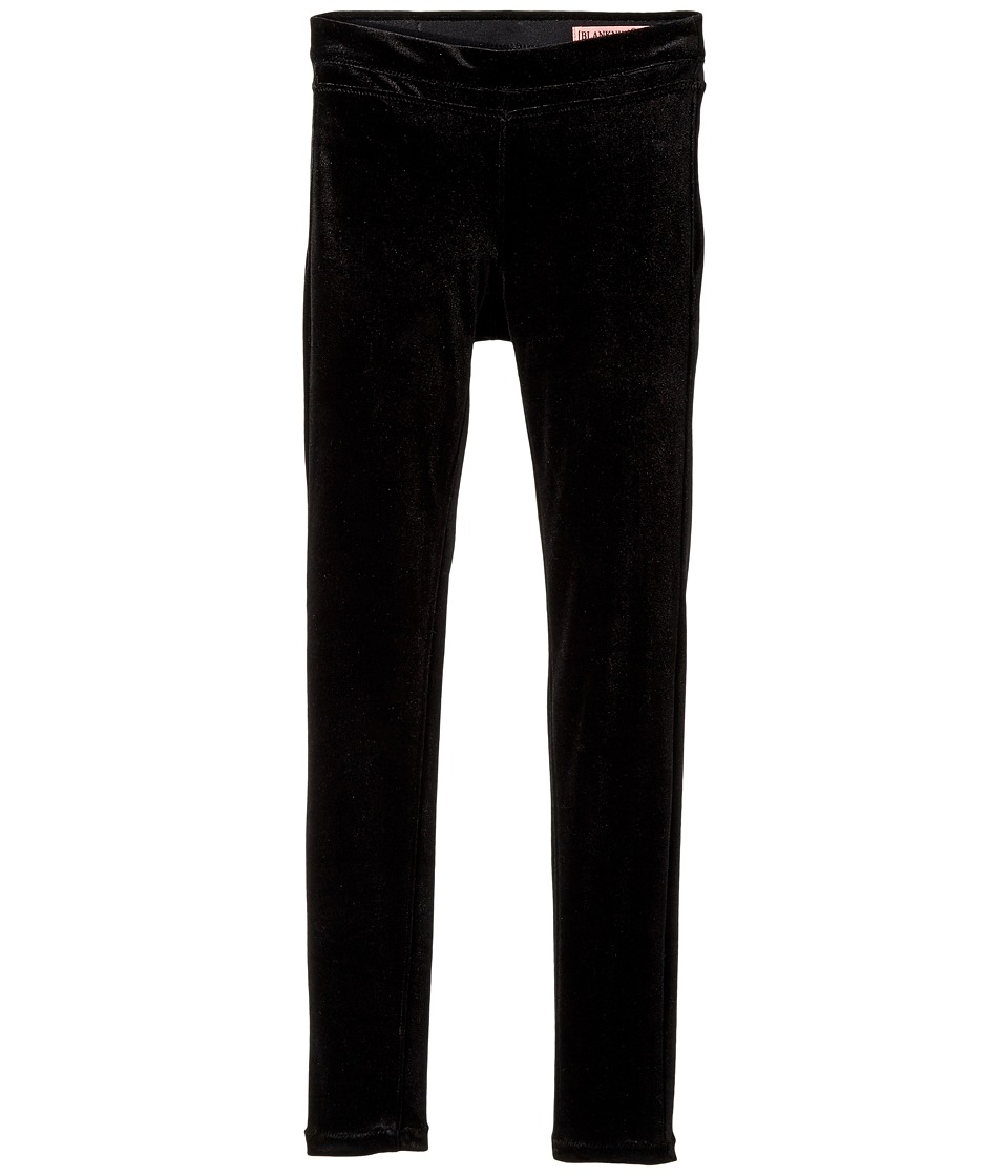 Blank NYC Kids Velvet Basic Black Skinny in The New Black (Big Kids) (The New Black) Girl