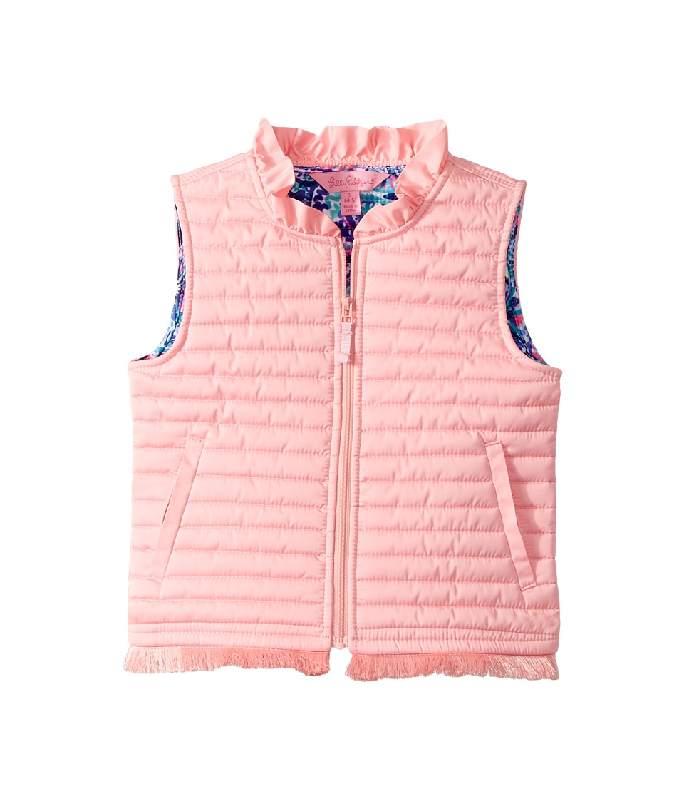 Lilly Pulitzer Kids - Levie Vest (Toddler/Little Kids/Big Kids) (Paradise Pink) Girls Vest