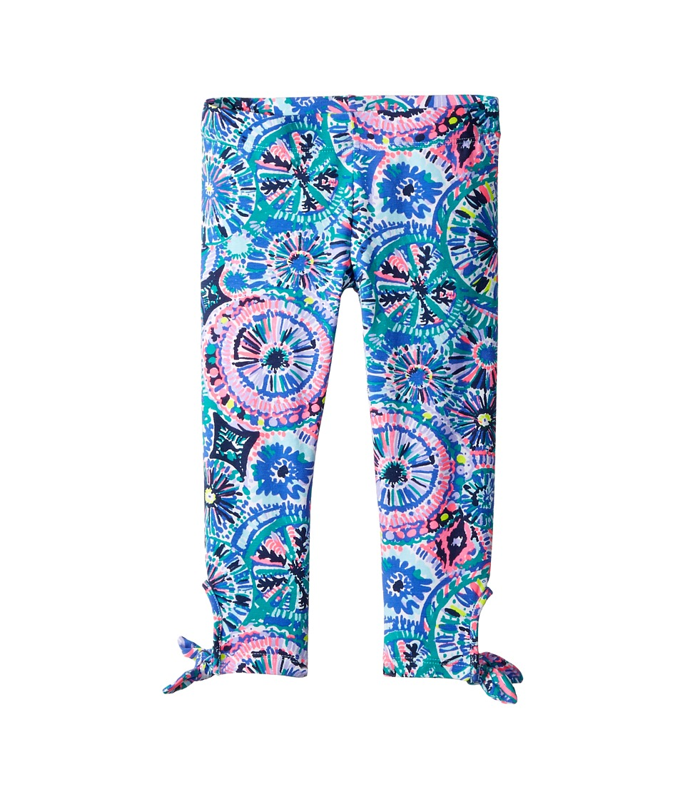 Lilly Pulitzer Kids - Maia Leggings (Toddler/Little Kids/Big Kids) (The Swim Reduced) Girls Casual Pants