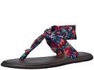 Sanuk Kids Lil Yoga Sling Ella Prints (Little Kid/Big Kid)