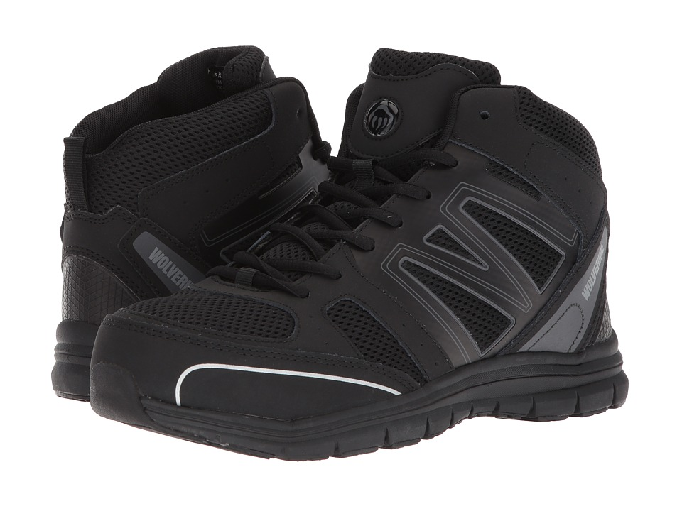 Wolverine Nimble FX Steel Toe (Black/Black) Women's Industrial Shoes