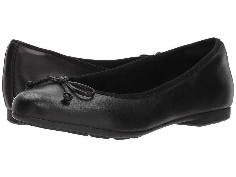 Earth Allegro (Black Soft Leather) Women