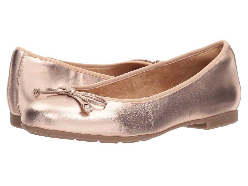 Earth Allegro (Rose Gold Pearlized Soft Leather) Women