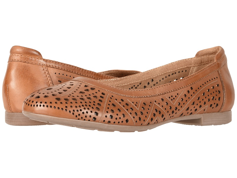 Retro Vintage Flats and Low Heel Shoes Earth - Royale Sand Brown Soft Leather Womens  Shoes $110.00 AT vintagedancer.com
