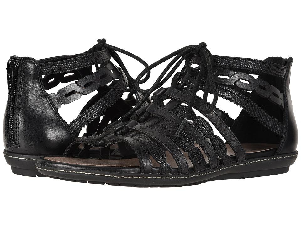Earth Tidal (Black Multi Soft Leather) Women's Shoes