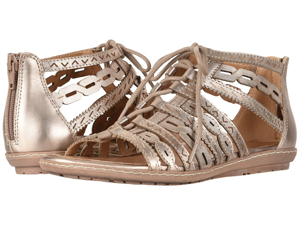 Earth Tidal (Titanium Pearlized Soft Leather) Women's Shoes