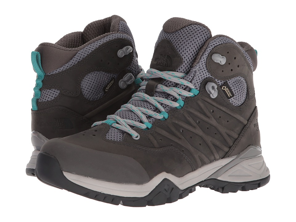 The North Face Hedgehog Hike II Mid GTX (Q-Silver Grey/Porcelain Green) Women's Shoes