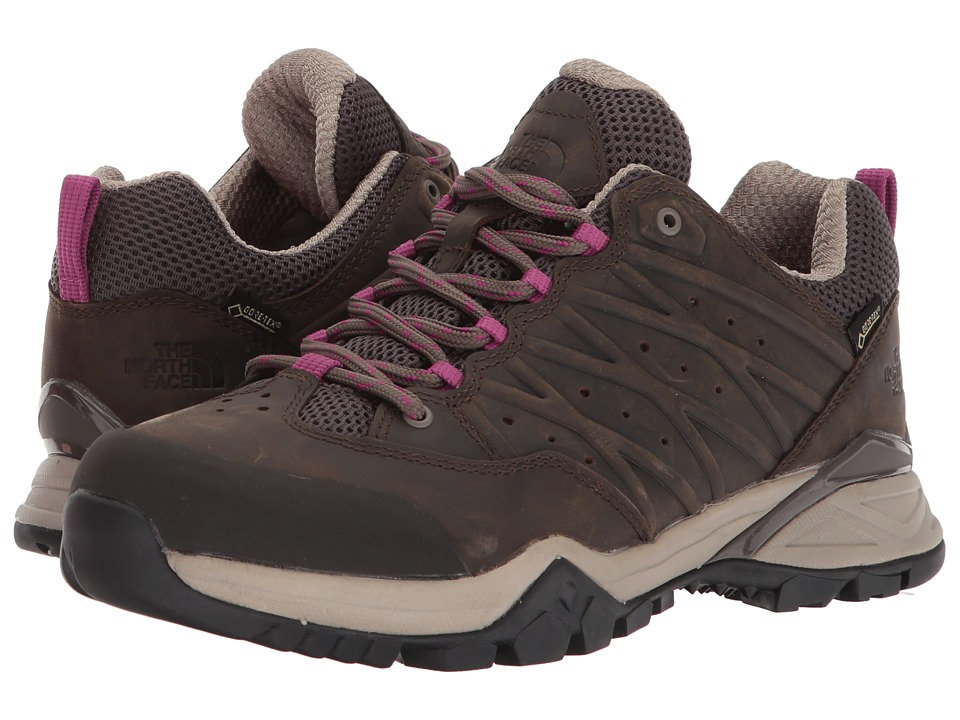 The North Face Hedgehog Hike II GTX (Bone Brown/Wild Aster Purple) Women's Shoes