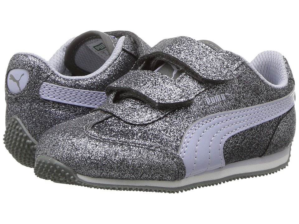 Puma Kids Whirlwind Glitz V (Toddler) (Quiet Shade/Icelandic Blue) Girls Shoes