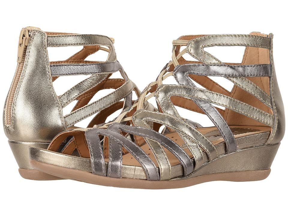 Earth Juno (Gunmetal Metallic Tumbled Leather) Women's Shoes