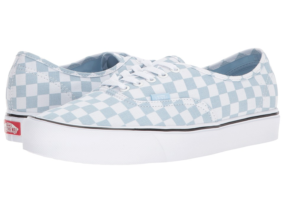 Vans - Authentic Lite ((Canvas) Baby Blue/True White) Skate Shoes