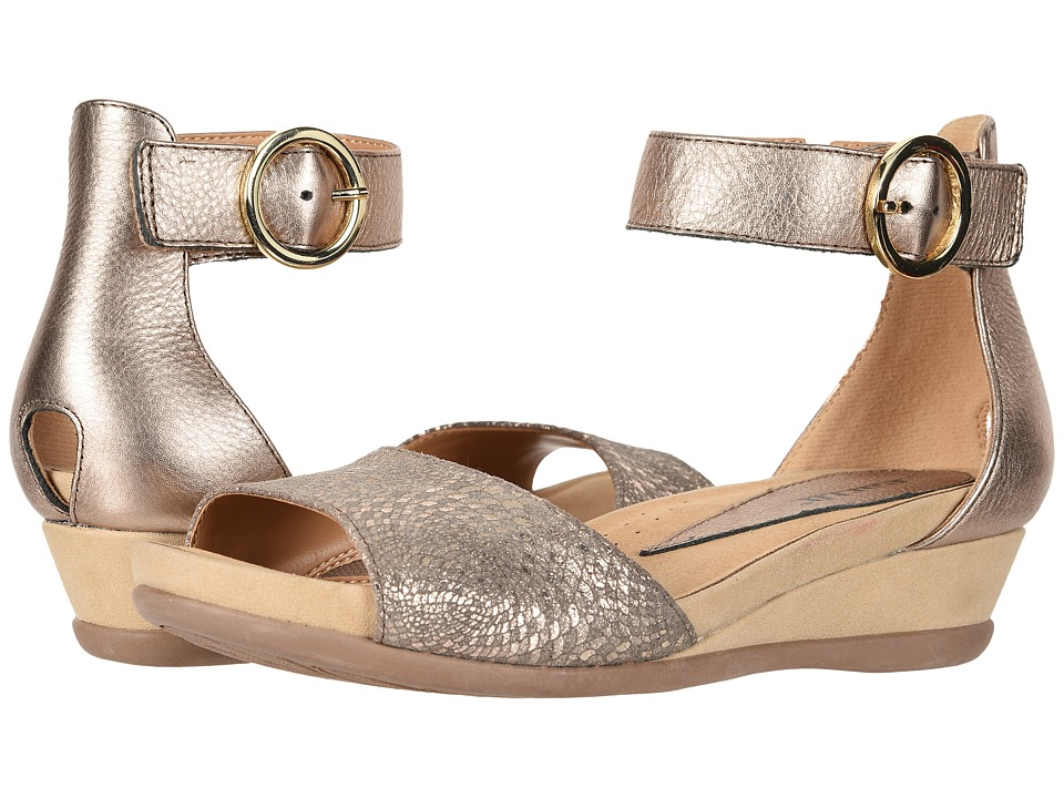 Earth Hera (Champagne Mosaic Printed Suede) Women's Shoes